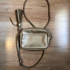 Gap Gold Crossbody Bag 💕